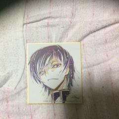 "Thumbnail of ""コードギアス 色紙 ルルーシュ"""