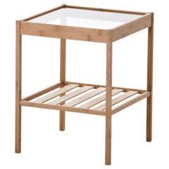 "Thumbnail of ""全国送料込み ベッドサイドテーブル NESNA ネスナ 要組立て 新品 IKEA"""