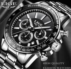 "Thumbnail of ""【 1点限り❗】LIGE クォーツ クロノグラフ 腕時計"""