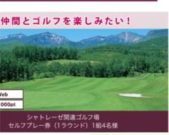 "Thumbnail of ""シャトレーゼ ゴルフ場 セルフプレー券"""