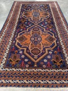"Thumbnail of ""Persian Vintage Baluch Rug"""
