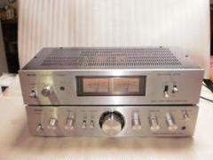 "Thumbnail of ""Aurex SY-335 プリアンプ/SC-335 メインアンプ"""