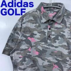 """Thumbnail of """"Adidas GOLF アディダス ゴルフウェア デジタルカモフラ柄ポロシャツL"""""""