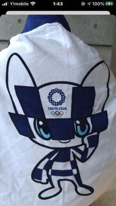 "Thumbnail of ""東京2020 東京オリンピックキャラクターポンチョタオル"""