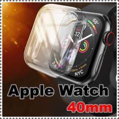 "Thumbnail of ""Apple Watch 40mm ケース カバー クリア 透明 シンプル 保護"""