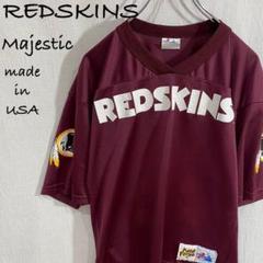 "Thumbnail of ""超レア 本場USA製 NFL REDSKINS ゲームシャツ Majestic"""