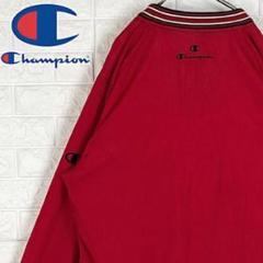 "Thumbnail of ""チャンピオン オーバーサイズ 刺繍ワンポイントロゴ ナイロンジャケット 90s"""