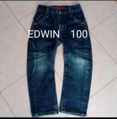 """Thumbnail of """"EDWIN デニム ジーンズ 100センチ"""""""