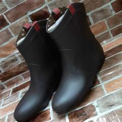"Thumbnail of ""新品未使用●ショート●雨具●雨靴●M●23~23.5●長靴●ブラウン①"""
