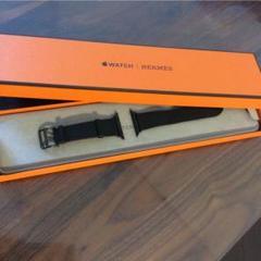 "Thumbnail of ""HERMES Apple Watch レザーベルト ブラック"""