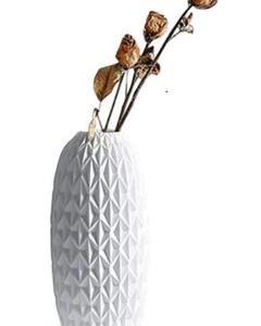 "Thumbnail of ""モダンなミニマリストセラミック花瓶飾り白い室内装飾一輪花瓶4"""
