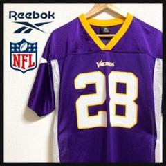 "Thumbnail of ""【激レア】NFL Reebok ユニフォーム Vikings バイキングス XL"""