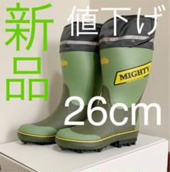 "Thumbnail of ""★新品★ 格安 プロ仕様 スパイク長靴 マイティブーツNSワイド"""