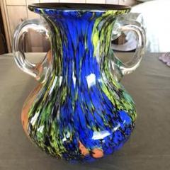 "Thumbnail of ""KAMEI GLASS カメイグラス製 OSAKA ガラス花瓶 ヴィンテージ"""