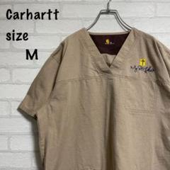 "Thumbnail of ""Carhartt 企業物 刺繍 メディカルシャツ プルオーバーワークシャツ"""
