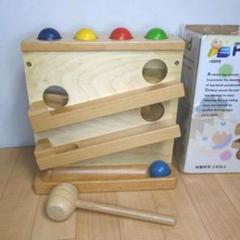 """Thumbnail of """"パウンド ザ ボール pound the ball 木のおもちゃ 知的玩具"""""""