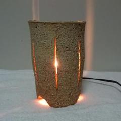 "Thumbnail of ""和風 焼き物 灯り ランプ"""