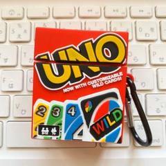"Thumbnail of ""UNO ウノ Airpods エアポッズ カードゲーム シリコン ケース カバー"""