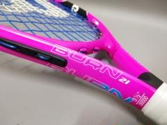 """Thumbnail of """"【テニスラケット】Wilson ウイルソン キッズ BURN PINK 21"""""""