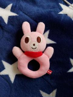 "Thumbnail of ""ミキハウス ミキハウスおもちゃ MIKIHOUSEガラガラ ラトル ウサギ"""