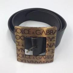 """Thumbnail of """"Dolce&Gabbana ドルチェ&ガッバーナ ベルト レザー ブラック"""""""