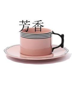 "Thumbnail of ""食器 リボン カップ&ソーサー ピンクi"""