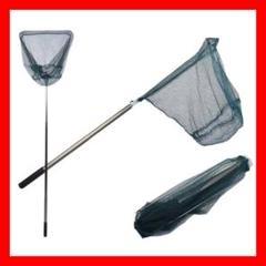 ❤️釣った魚を傷付けずしっかりキャッチ♪❤たも網⭐玉網⭐ワンタッチネット1.65m