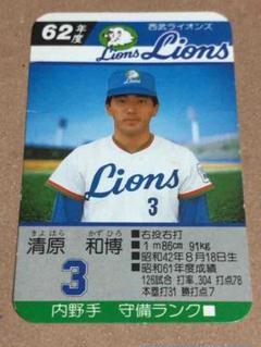 """Thumbnail of """"タカラプロ野球カード(一枚)8本/12"""""""