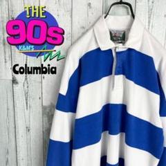 "Thumbnail of ""90's  COLUMBIAKNIT USA製 太ボーダー ラガーシャツ"""