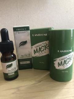 """Thumbnail of """"Greentea facemask and teatree oil"""""""