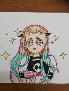 "Thumbnail of ""自縛少年花子くんオリジナルイラスト"""