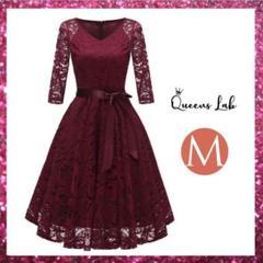 """Thumbnail of """"ドレス パーティードレス レディース 結婚式 七分袖 かわいい ワンピース M"""""""