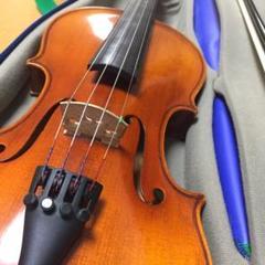 "Thumbnail of ""【中古良品】スズキ 3/4 バイオリン NS-20 弓2本 ケース セット"""