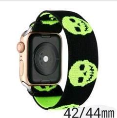 "Thumbnail of ""在庫1点☆!Apple Watch 交換用バンド 42/44mm スカル"""