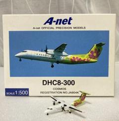 "Thumbnail of ""A-net エアーニッポンネットワーク コスモス DHC8-300 1/500"""