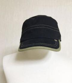 "Thumbnail of ""黒カーキ帽子 キャスケット キャップ ハット"""
