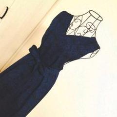 "Thumbnail of ""着物リメイク ジャンパースカート【紺】"""