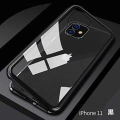 "Thumbnail of ""iphone11 クリアケース 両面 ハードケース 黒"""