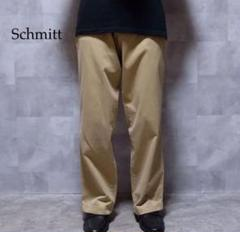 "Thumbnail of ""Schott ベージュ ワンポイントロゴパッチ チノパン"""