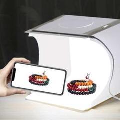 """Thumbnail of """"撮影ボックス  撮影キット LED 折りたたみ式 撮影ブース USB カラー背景"""""""