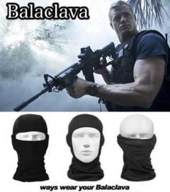"""Thumbnail of """"【Balaclava】フェイス マスク ブラック/メッシュ/バラクラバ/帽子"""""""