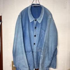 "Thumbnail of ""vintage french moleskin jacket モールスキン"""