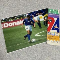 """Thumbnail of """"1994 ワールドカップ 決勝戦 チケット バッジョ ブラジルvsイタリア"""""""