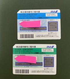 "Thumbnail of ""ANA 株主優待券 2枚"""