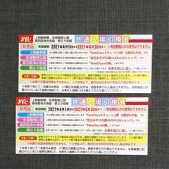 "Thumbnail of ""上野動物園 葛西臨海水族園 多摩動物公園 都立9庭園 共通入場引換券 2枚"""