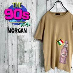 "Thumbnail of ""90's Morgan モルガン イタリアロゴ ボトルデザイン Tシャツ"""