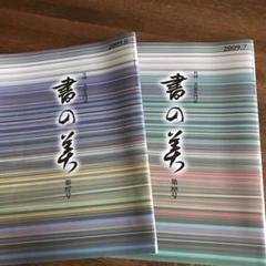"Thumbnail of ""書の美 2009 2冊"""