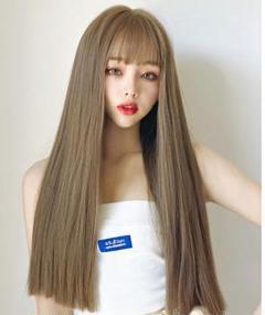"Thumbnail of ""長い髪は自然と頭全体になり、丸顔はストレートに伸びます。"""
