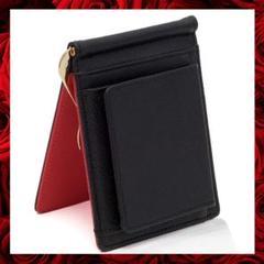 """Thumbnail of """"マネークリップ 財布 メンズ 二つ折り 小銭入れ 二つ折り財布 薄型 カード"""""""