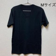 """Thumbnail of """"ユニクロ Vネック Tシャツ ブラック"""""""